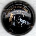 BARON Albert   N° 12   noir : la cigale et la fourmi