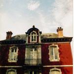 vue de la façade d'un des pavillons