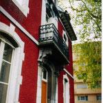 balcon d'un pavillon