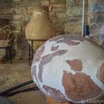 Antiquarium o Open Air Museum all'interno del Balık Pazarı (mercato del pesce)  - Pithos funerario periodo protostorico