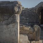 Bouleuterion IV secolo a.C. Particolare colonna