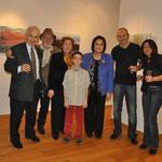Büyük ressam Alp Bartu ve saygıdeğer konuklar ile