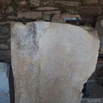 Antiquarium o Open Air Museum all'interno del Balık Pazarı (mercato del pesce) -  lettera scritta dalla moglie di Antiochus III