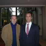 con S.E. il Console Generale D'Italia in Istanbul Dott. Gianluca Alberini