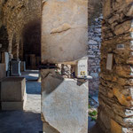 Antiquarium o Open Air Museum all'interno del Balık Pazarı (mercato del pesce) - Lettera di rapporti commerciali tra Iasos e il re d'Egitto Ptolemaios (FILEminimizer)