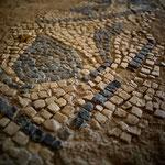 Antiquarium o Open Air Museum all'interno del Balık Pazarı (mercato del pesce) - mosaico di pavimento periodo tardo romano