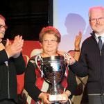 Airaines vainqueur pour la 3ème année consécutive; du jamais vu ! Equipe composée de Dany, Marie-Hélène, Jean-Jacques (de gauche à droite)