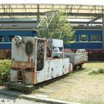 鉱山用電気機関車(2010年5月)