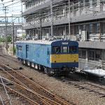 クモヤ145 1102(2012年6月)天神川駅ホームから