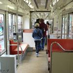 3501号C車内(2012年11月)