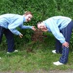 Rebecca und Jamie haben was entdeckt:-)
