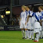 August 2012: Bezirkspokal-Aus in Ihrhove - der VfL unterliegt nach Elfmeterschießen.
