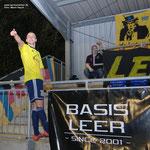 Mai 2013: Der vierfache Plichta! Im Derby gegen Loga lief Germanias Stürmer zu Höchstform auf und steuerte vier Tore zum 6:1 bei. Zurecht durfte er danach mit den Fans feiern.