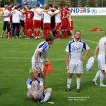 August 2012: Auftakt-Frust. Im ersten Saisonspiel unterliegt Germania mit 0:2 beim VfL Oythe.