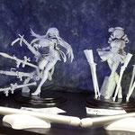 【グリズリーパンダ 様】魔法少女まどか☆マギカ 暁美 ほむら・巴 マミ 最近話題の3DCGでの原型出力で作品を作られているディーラーさんです。ヴィネットに凝っていて格好良いです。 [http://pandapapanda.cocolog-nifty.com/]