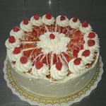 Holländer - Kirsch Torte [mit Blätterteig]