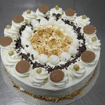 Nuss - Sahne Torte