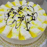 Zitronen - Sahne Torte