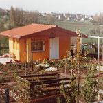 Kleingärtnerverein Brühl e.V. ca 1982: Eine Laube entsteht 10