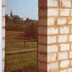 Kleingärtnerverein Brühl e.V. ca 1982: Bau der Gartenlauben 6 -Durchblick