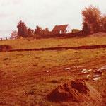 Kleingärtnerverein Brühl e.V. ca 1982: Drainagen legen- das Gelände