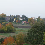 Badorfer Kirche Herbstlaub