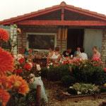 Kleingärtnerverein Brühl e.V. ca 1982: Eine Laube entsteht 9 Richtfest