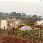 Kleingärtnerverein Brühl e.V. ca 1982: Bau der Gartenlauben- 7