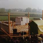 Kleingärtnerverein Brühl e.V. ca 1982: Bau der Gartenlauben 5