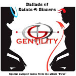 GENTILITY - EP-Cover Ballads of Saints and Sinners (englisch)
