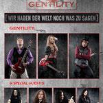 GENTILITY mit Album-Special Guest´s