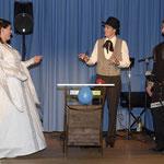 Zauberei für das Brautpaar