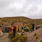 day-504 // Campsite, Parque nacional Sajama, Bolivia - 21.10.2014 (km 19'146)