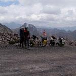 day-465 // Abra Huarapasca (4860m), Parque Nacional Huascarán, Peru - 12.09.2014 (km 17'258)