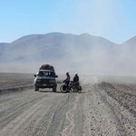 day-521 // On the road, after Laguna colorada, Bolivia - 07.11.2014 (km 19'936)