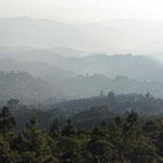 View over the area of Quetzaltenango.
