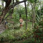 In Garden Eden. Best shower ever.