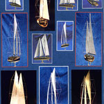 Etude, conception et maquette : voilier de 30m. Plans et maquette Hervé Arnoul pour IMS