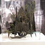 Dijon Vu Par: Parvis Saint Jean, création Hervé Arnoul. Exposition