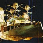 Interprétation Mobile Jules Verne. Création Hervé Arnoul.Albatros.