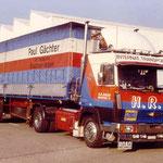 Steyer 91 Jg.08.1980 320 PS V8+Planensattelaufl.verch.Stosstange und Edelstahlauspuffanlage (amerikanisch)