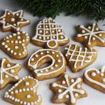 Weihnachtliche Lebkuchen.
