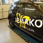 Flotte Autobeschriftung Jemako