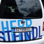 Autobeschriftung und Scheibentönung HERR STEINDL