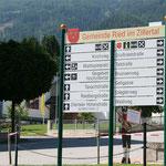 Ortsbeschilderung Ried im Zillertal