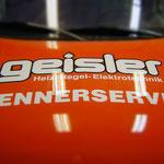 Autobeschriftung Geisler Brennerservice