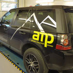 Autobeschriftung AMP Fitness, Personal Trainer Lisi Aschenwald