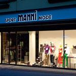 Leuchtschrift Sport Manni, Mayrhofen