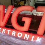 3D Leuchtschrift WGT Elektronik