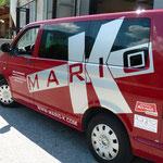 VW-Bus Beschriftung für Mario K - ab jetzt unverwechselbar!